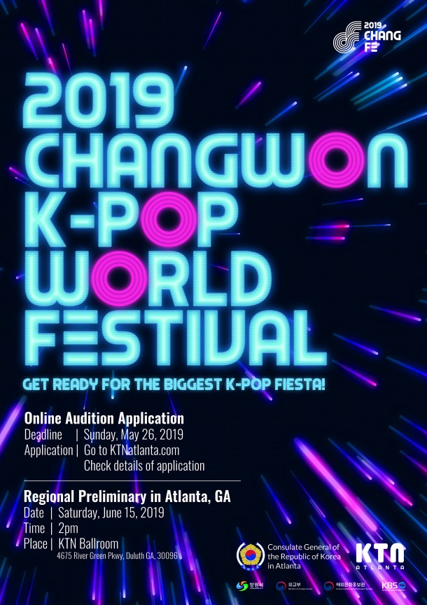 2019 K-Pop World Festival Regional Preliminary in Atlanta